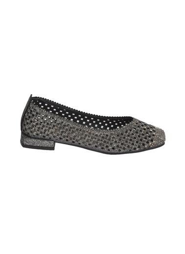 Mhd 321 Platin Kadın Günlük Ayakkabı Gümüş
